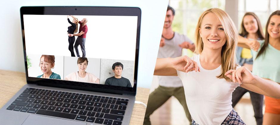 オンライン ボケ予防の為の健康体操&ダンストップ画像
